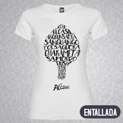 Camiseta Mujer Palabras...